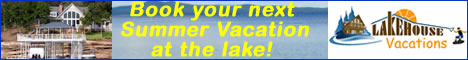 Lake House lake vacation rental