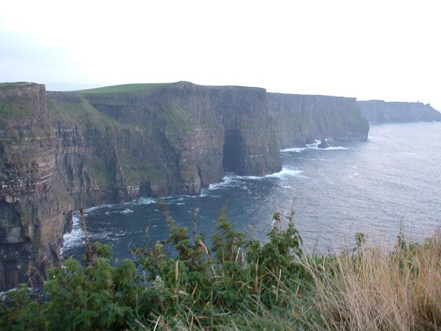 Cliffs of Moher, Ireland, 217 m above Atlantic Ocean