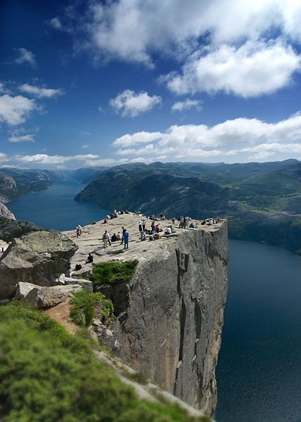 Norway, 604 m above Lysefjorden