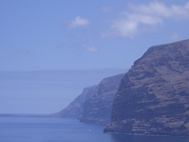 Los Gigantes, Tenerife-Canary Islands, Spain, 637 m above Atlantic Ocean