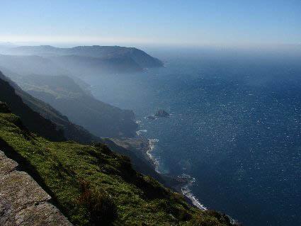Vixía Herbeira, Northern Galicia, Spain, 621 m above Atlantic Ocean