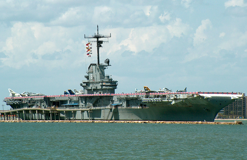 USS Lexington in Corpus Christi Texas