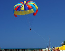 Parasailing in Port Aransas