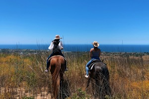 Horseback riding Zuma Canyon malibu
