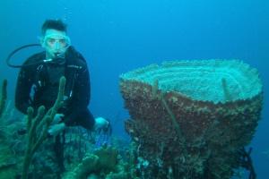 Saba Tyler Tidwell Scuba Diving