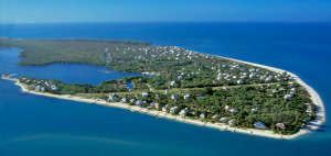 North Captiva from the sky