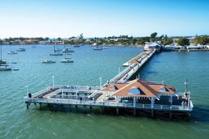 Bradenton Beach House Rentals, Fishing at the City Pier