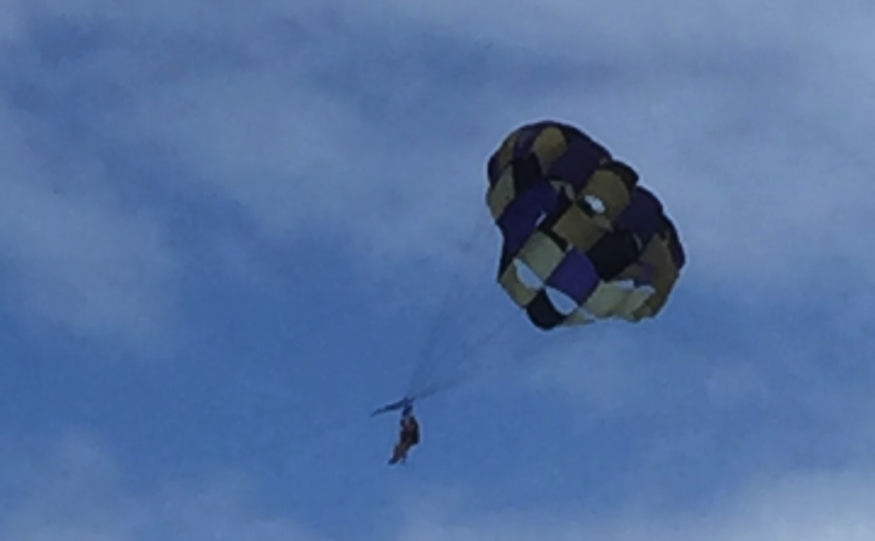 parasailing in Cozumel