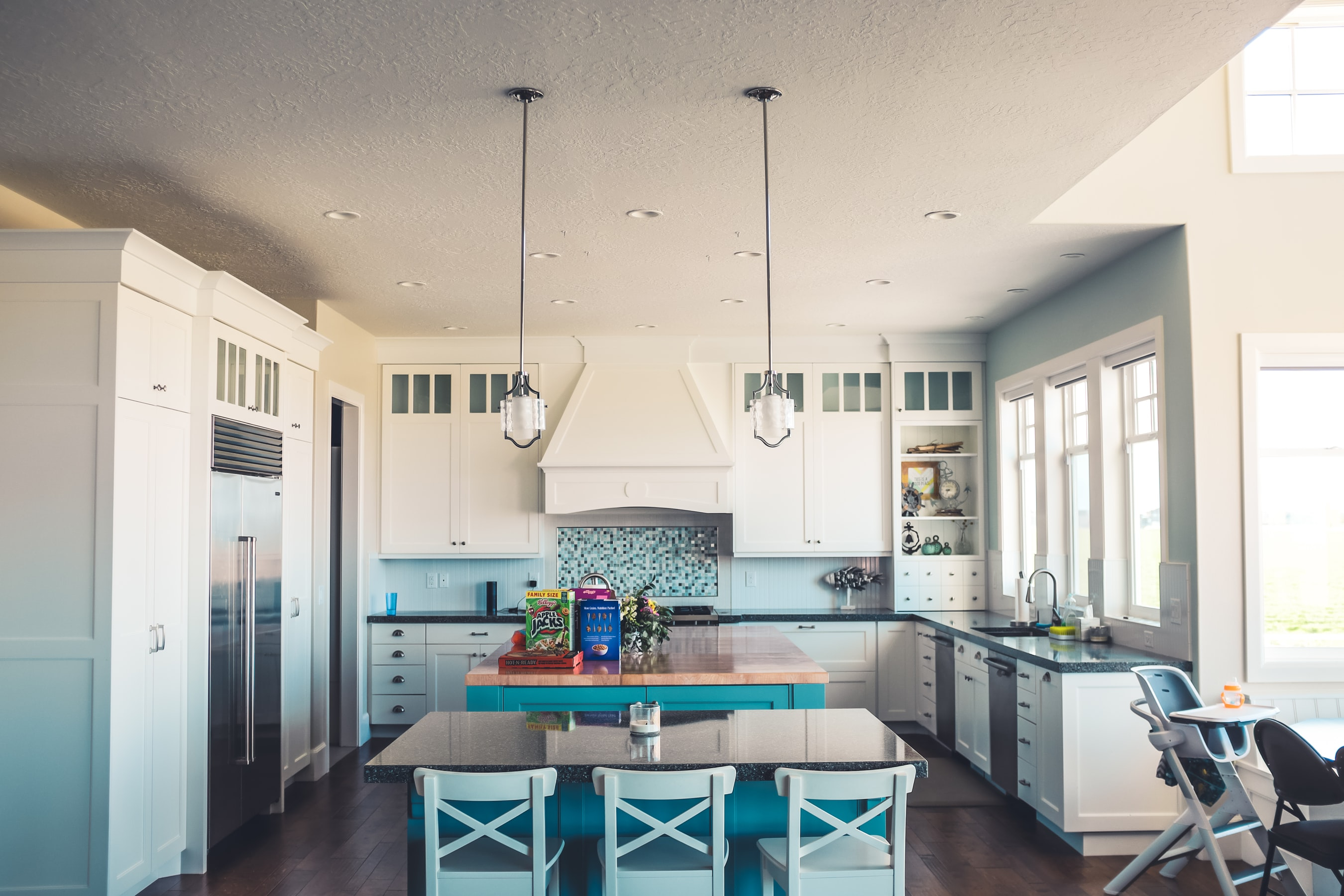 Malibu Beach House Kitchen